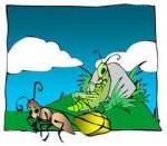 Greierele si Furnica, versiunea originala - Aesop