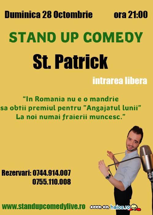 Stand Up Comedy, Bucuresti, duminica intrarea libera