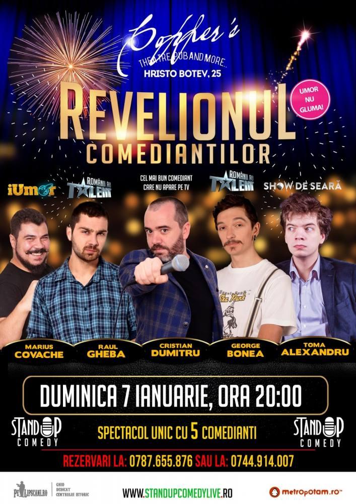 Revelionul Comediantilor Bucuresti Duminica 7 Ianuarie 2018