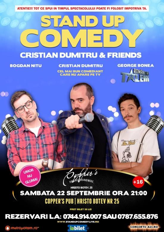 Stand-Up Comedy Bucuresti Sambata 22 Septembrie 2018