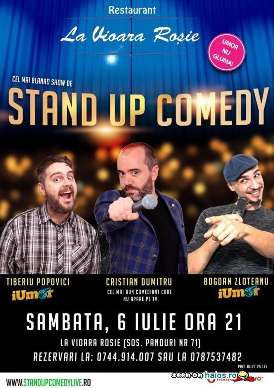 Stand-Up Comedy Bucuresti Sambata 6 Iulie 2019